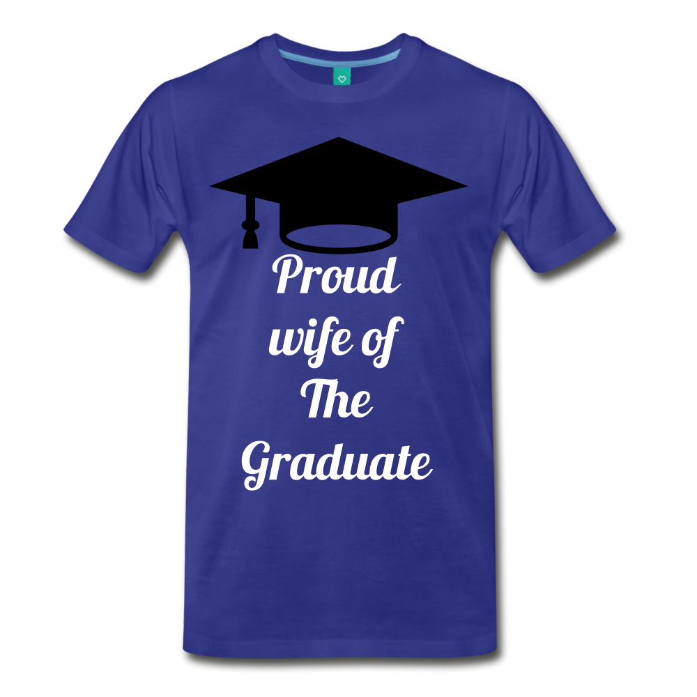 wife of grad tee - royal blue