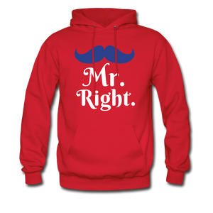 Mr. Right - red
