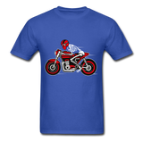Rider Tee - royal blue