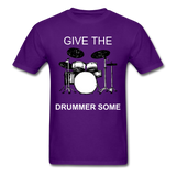 Drummer Tee - purple