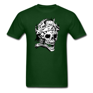 King Skull Tee - forest green