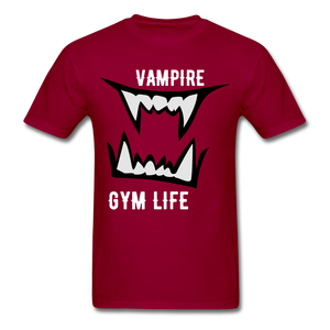 Vamp Gym Tee - dark red