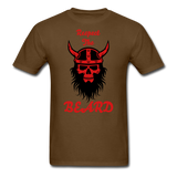 The Beard Tee - brown