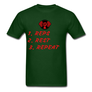 Rep's Tee - forest green