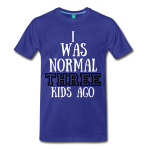 Normal 3 kids ago - royal blue