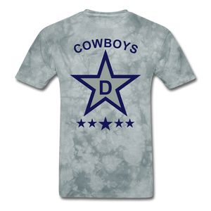 Dallas Tee - grey tie dye