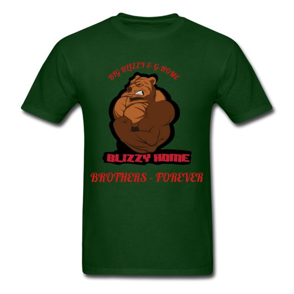 Bliz & Home Tee - forest green