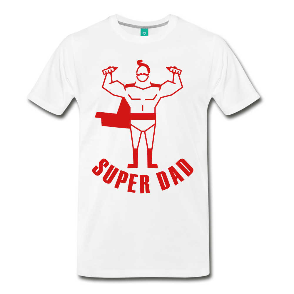 Super Dad - white