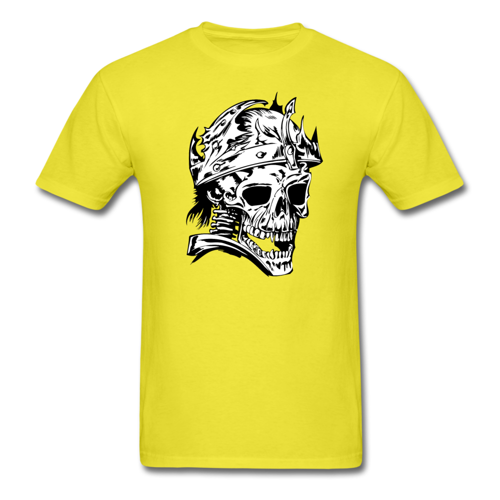 King Skull Tee - yellow
