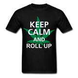 Roll Up Tee - black