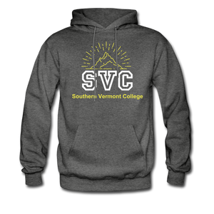 SVC Hoodie Too - charcoal gray