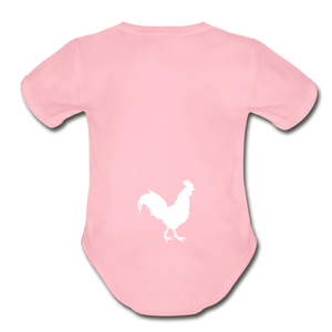 Chicken Butt Onsie - light pink