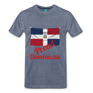 Proud Dominican - heather blue