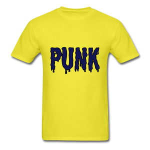 Punk Tee - yellow