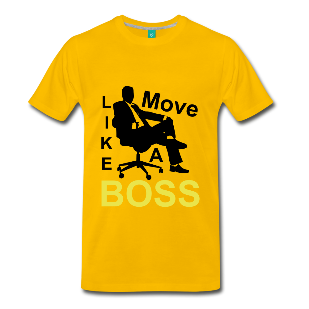 Move Like A Boss - sun yellow