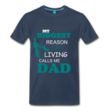 Reason for living Tee - navy