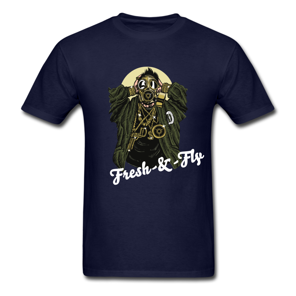 Fresh-&-Fly Tee - navy