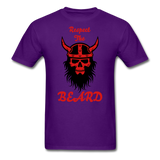 The Beard Tee - purple
