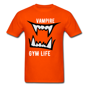 Vamp Gym Tee - orange