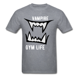 Vamp Gym Tee - mineral charcoal gray