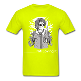 Loving it Tee - safety green