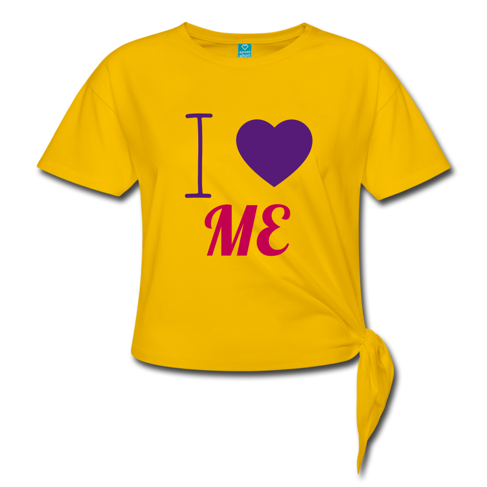 I Heart Me - sun yellow