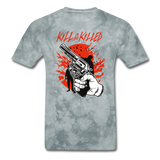 Kill Tee - grey tie dye