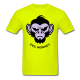 Monkey Tee - safety green