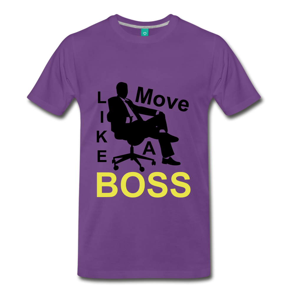 Move Like A Boss - purple