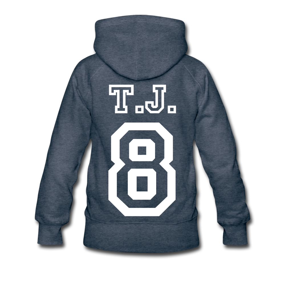 T.J. Hoodie Champ - heather denim