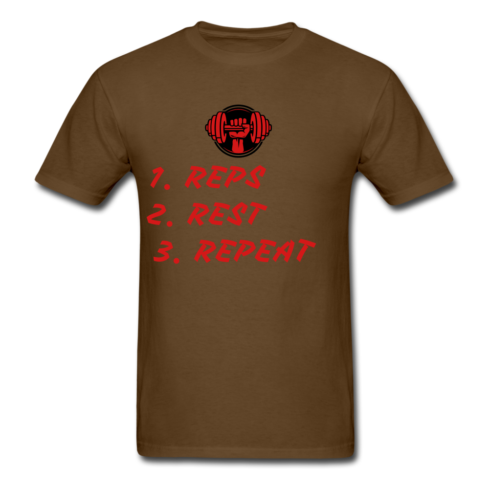 Rep's Tee - brown