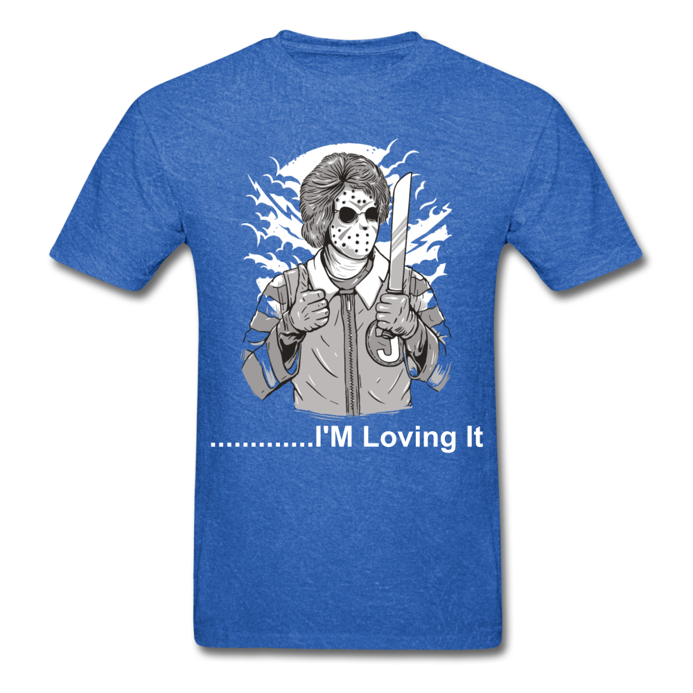 Loving it Tee - mineral royal