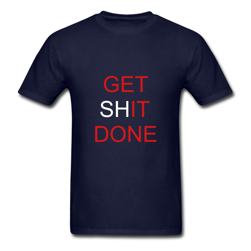 Get SHit Done Tee - navy