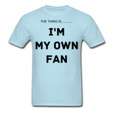 My Own Fan - powder blue