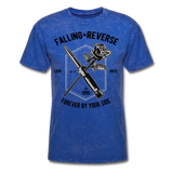 Fall in Reverse Tee - mineral royal