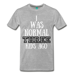 Normal 3 kids ago - heather gray
