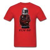 Fly Tee - red