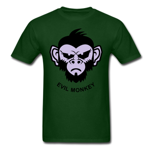 Monkey Tee - forest green