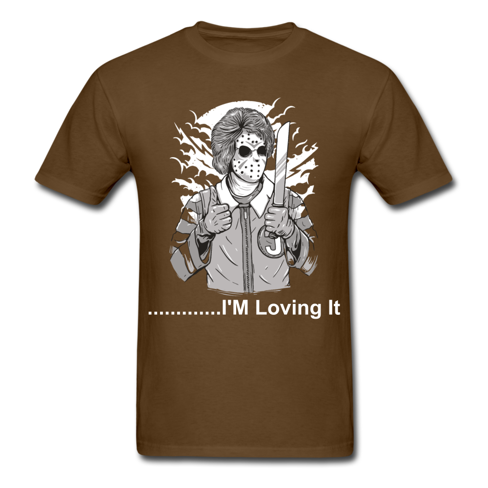 Loving it Tee - brown