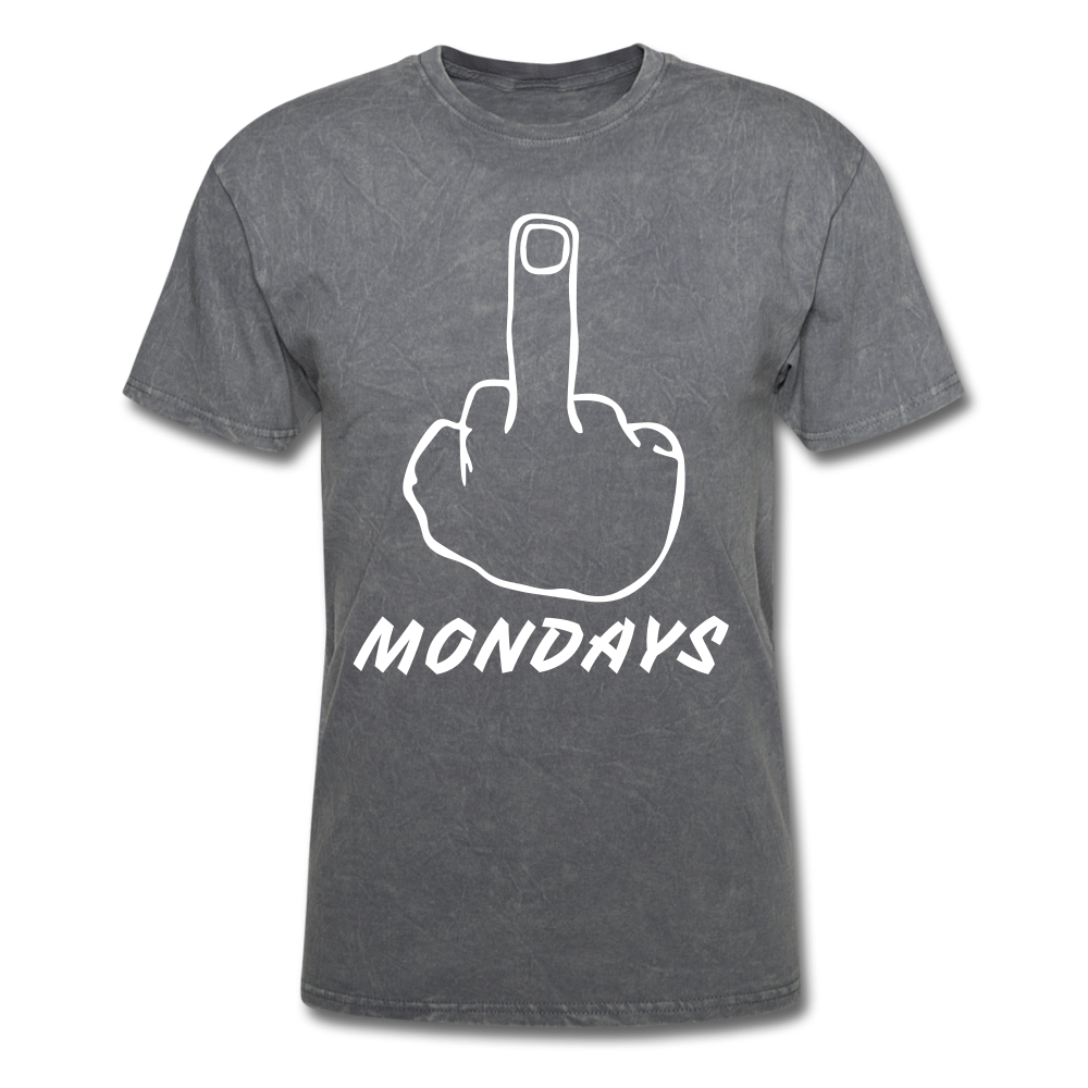 F Mondays Tee - mineral charcoal gray