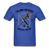 Fall in Reverse Tee - royal blue