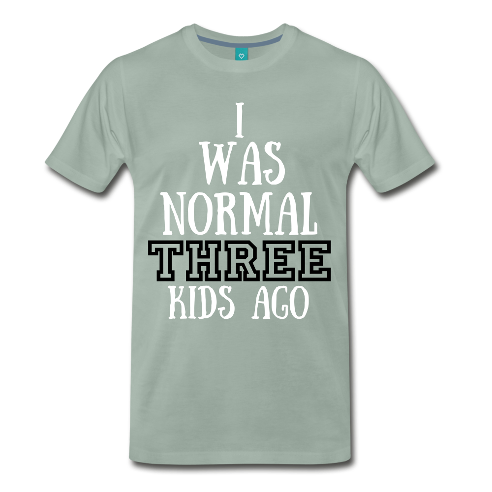 Normal 3 kids ago - steel green