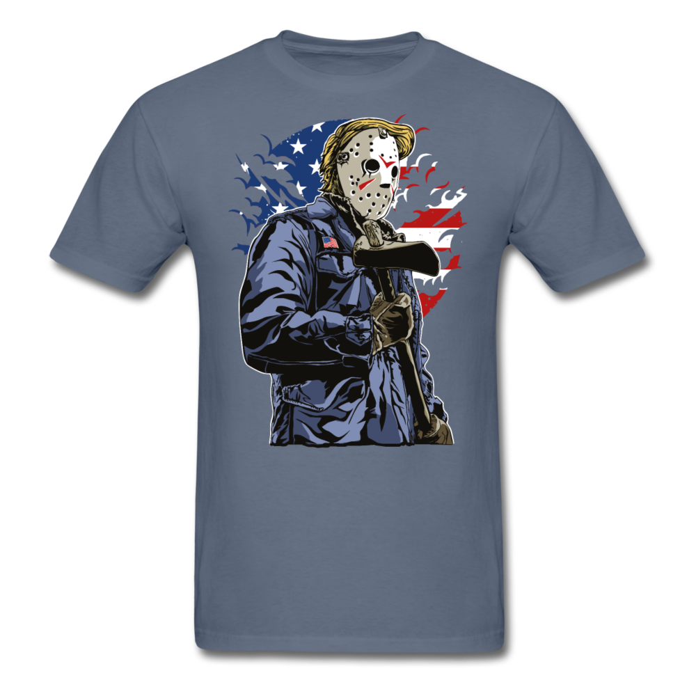 Trump Killer Tee - denim