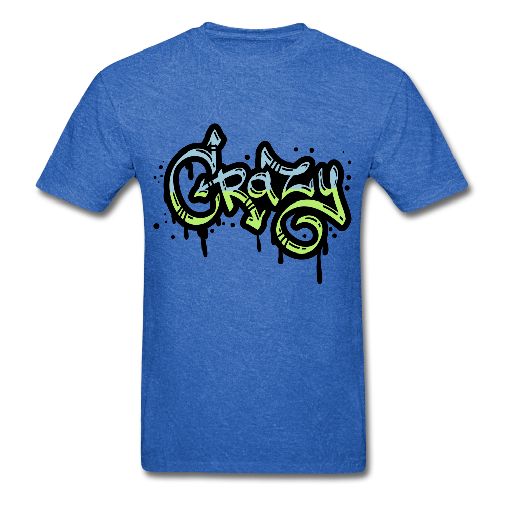 Crazy Tee - mineral royal