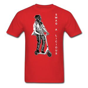 Swag-A-Licious Tee - red