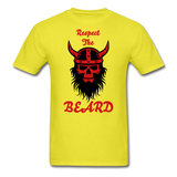 The Beard Tee - yellow
