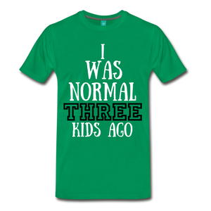 Normal 3 kids ago - kelly green