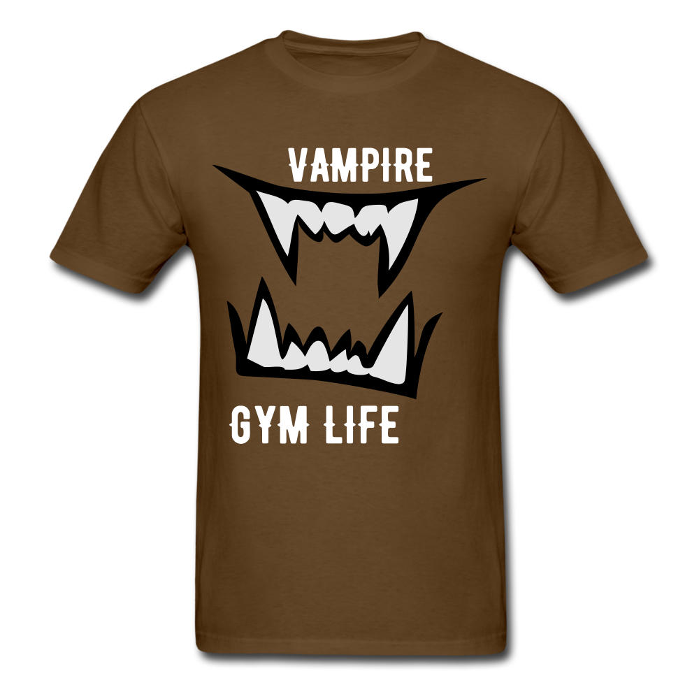 Vamp Gym Tee - brown