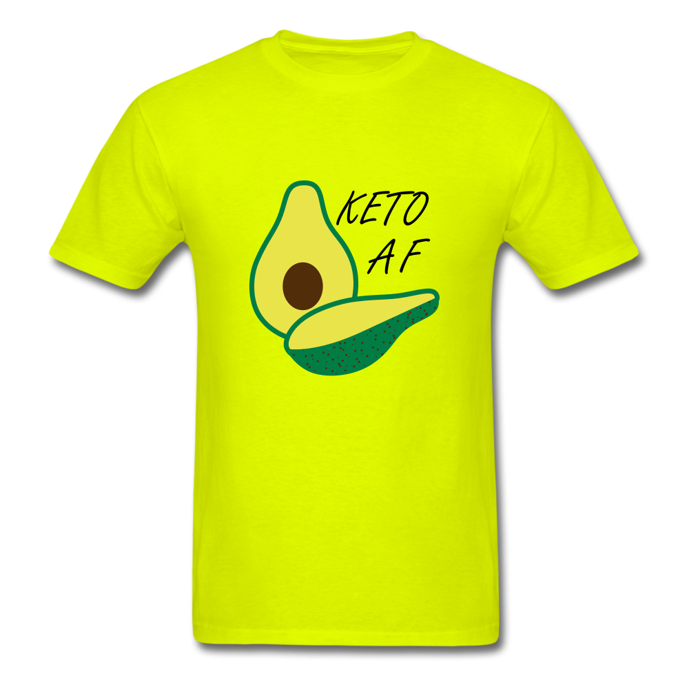 Keto Tee - safety green