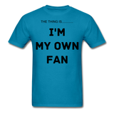 My Own Fan - turquoise
